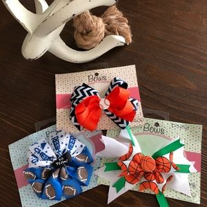 Other - Girl's Sports Pack Hair Bows
